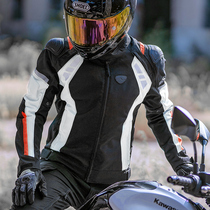 motoboy summer cycling suit Cycling suit Mens motorcycle racing suit Pants Knight equipment mesh suit breathable
