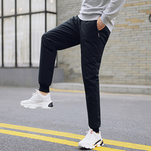 Men's slim down pants, men's outer wear, fashion warmth, sports down pants, men's winter cold-resistant white duck down pants