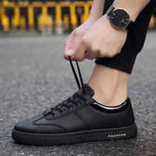 Chef's Shoes Men's Skid-proof, Water-proof and Oil-proof Kitchen Shoes Men's Small Black Shoes All Black Leather Shoes Work Shoes