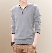 Korean winter with cashmere sweater Men T-shirt students warm personality trend of men's sweater sweater