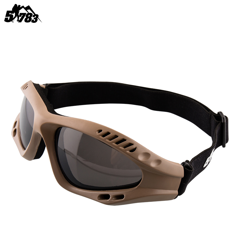 51783 outdoor tactical goggles windbreak goggles sand and dust-proof riding glasses male pilots ski goggles