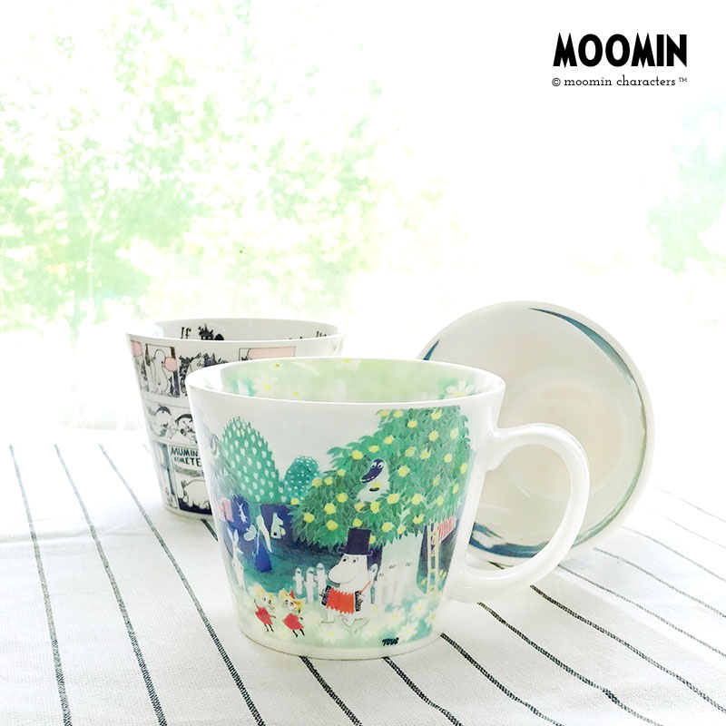 Muming Moomin official cartoon original edition thick Mug Cup Nordic coffee cup water cup Japanese import package