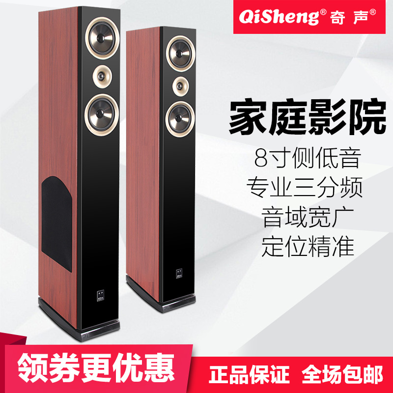 Qisheng / strange sound HQ-35 professional audio set karaoke passive passive floor fever HIFI speaker