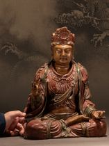 Ogrima Danish National Museum Southern Song Dynasty Guanyin Bodhisattva cultural relics-grade statue agate powder version