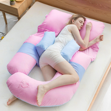 Pregnant women pillow waist side pillow support abdomen summer multifunctional pregnancy bed sleeping side pillow