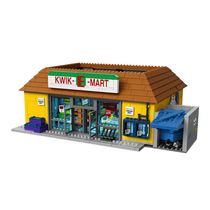 Simpson supermarket Kwik-E-Mart supermarket 16004 spell new Simpsons puzzle assembling building blocks