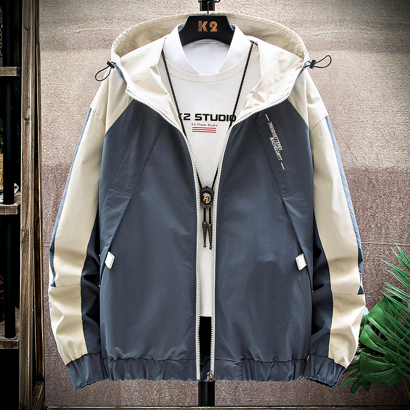 Spring coat men's spring and autumn 2020 new ins Korean fashion brand clothes men's functional tooling jacket