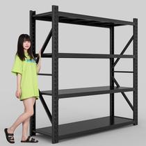 Warehouse shelf Storage rack Multi-layer home floor display rack Storage rack Rookie storage heavy-duty placement iron shelf