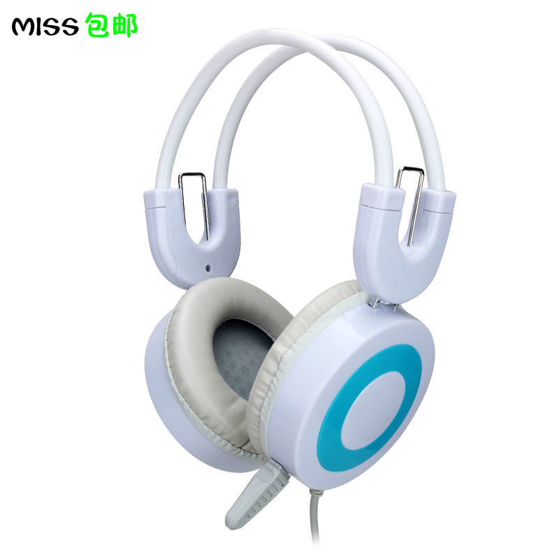 Mercedes H3 headset desktop computer bar game headset with microphone microphone student English headset