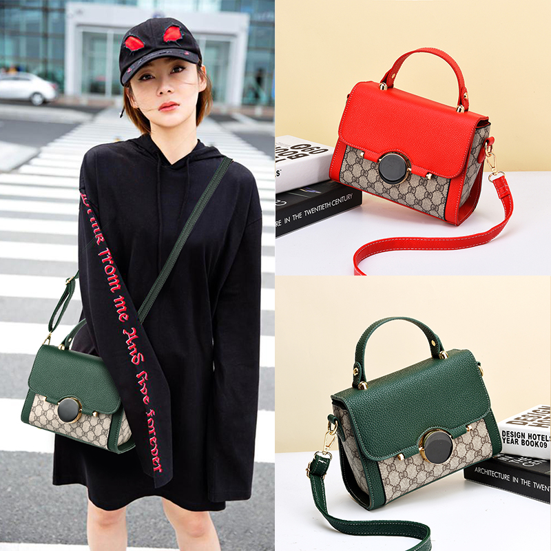 Small Bag Girl 2019 New Chaohua Version Baitao Slant Bag Fashion Forest Single Shoulder Handbag Ins Super Bag