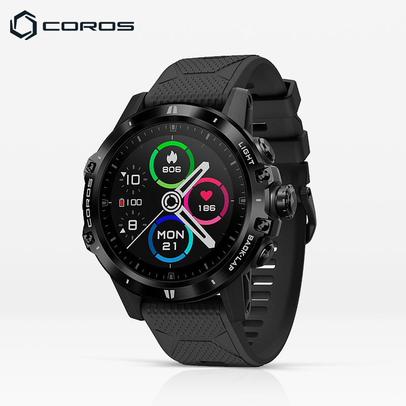 COROS High Chi VERX Outdoor Adventure Watch GPS Mountaineering Cross Country Run Heart Rate Blood Oxygen Track Navigation