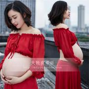 214 rental Sen female fashion fresh Photo Studio Photos of pregnant women pregnant women dress belly photos photography photo clothes