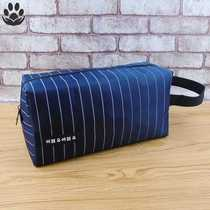 Mens toothbrush wash bag mens mesh breathable net bathroom cosmetics bag fitness bag bath bag