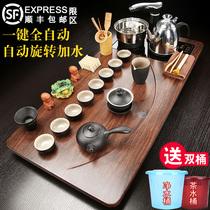 Solid Wood tea tray automatic tea set home living room kung fu tea table complete office integrated Tea Sea Large