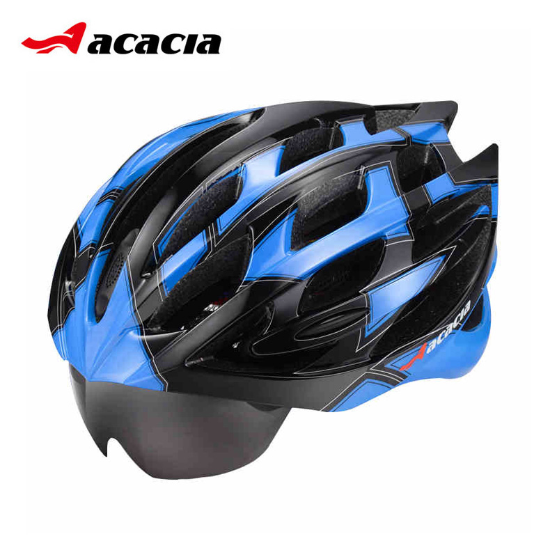 Acacia mountain bike helmet integrated men and women bicycle riding helmet helmet riding equipment
