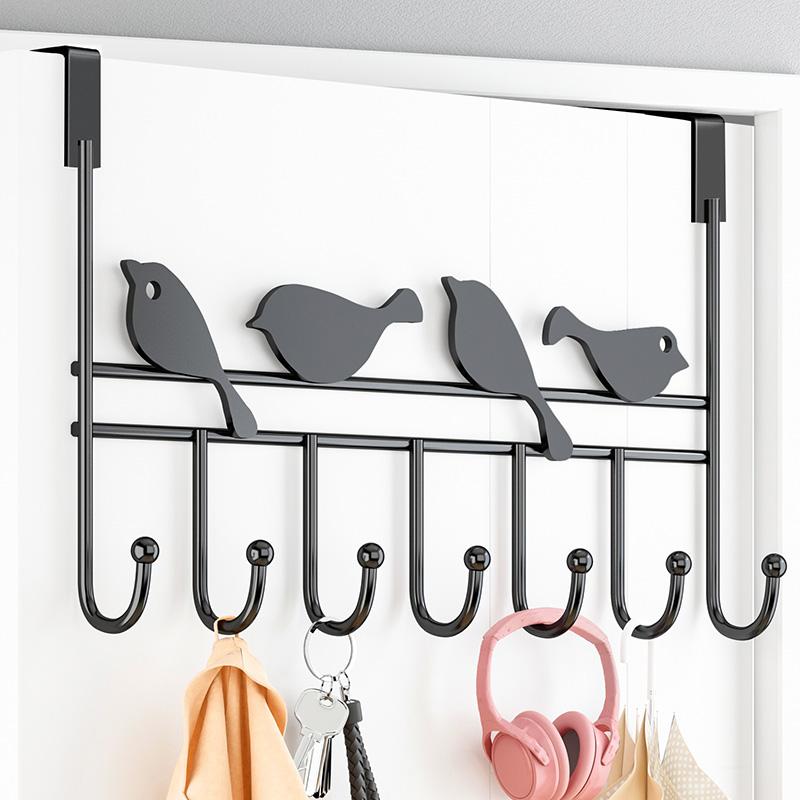 Cap rack home bedroom hanger hook hat clothes shelf on the wall creative coat storage rack
