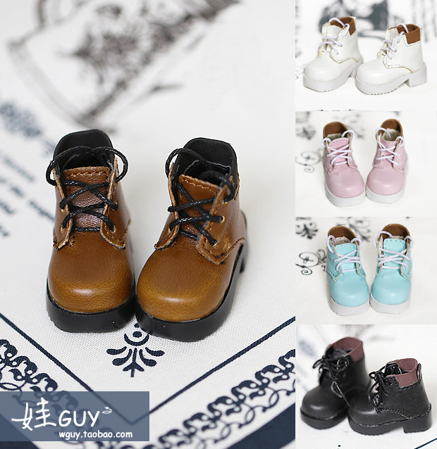 New Black//White Boots Shoes For 1//3 BJD Doll SD Doll WX3-44