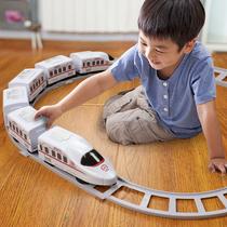 轨道小火车玩具男女孩电动轨道车模型套装汽车幼儿童玩具车3-4岁6