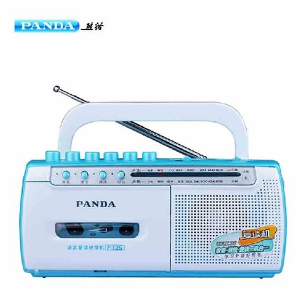 PANDA/Panda F135 Repeater Small Portable Tape Player Radio Desktop Tape Recorder