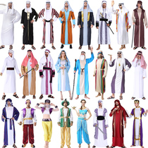 Halloween costume for adult men Middle East Arab gowns Cosplay for Dubai costume ball