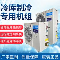 Unité de refroidissement 3p 4p 5p 6p 8p petit équipement complet unité de refroidissement entièrement fermée