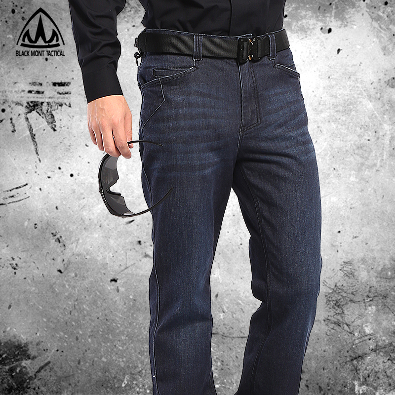 American BMT tactical jeans men's CORDURA stretch straight barrel outdoor commuter leisure overalls