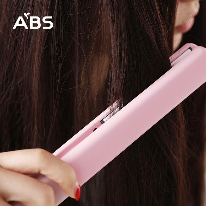 ABS loves each other's dry and wet hair straightener hair care device hair splint