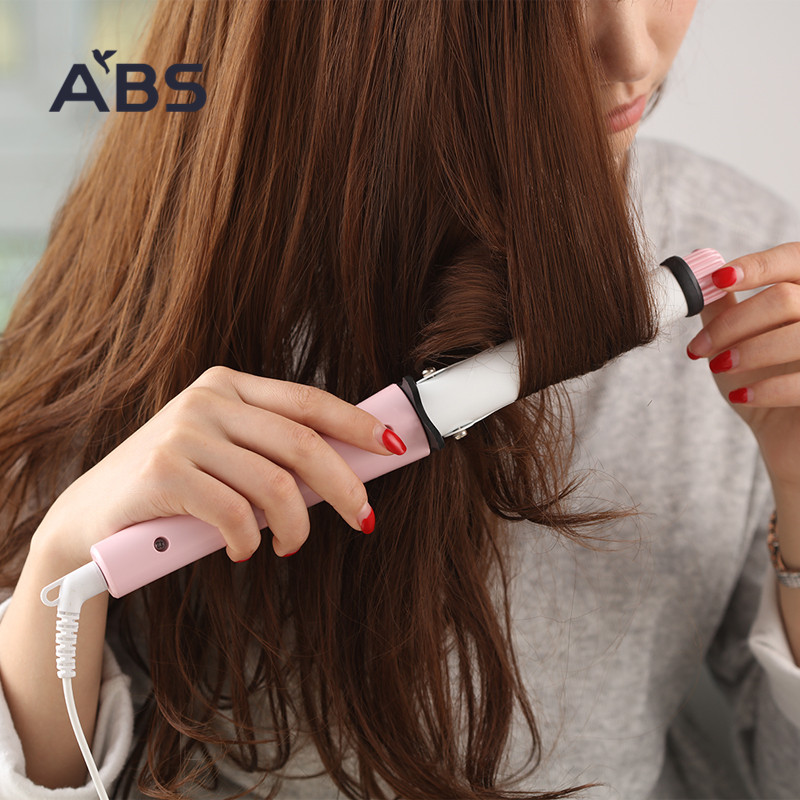 ABS loves each other's home size curlers Pear flower head Liu Hai big curling stick constant temperature does not hurt hair
