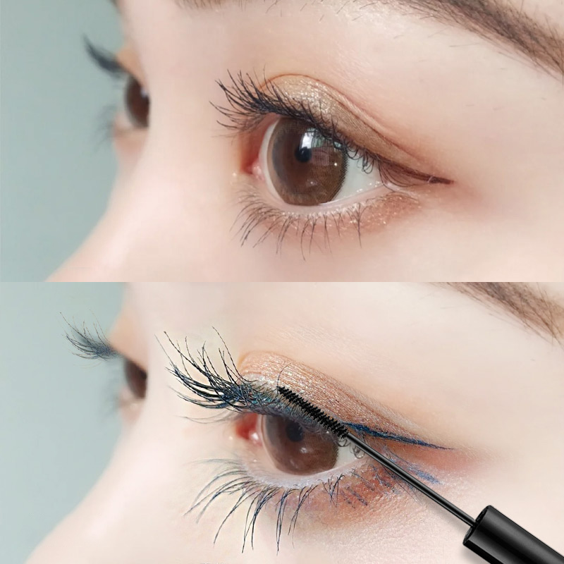 Flamingo mascara, small brush head, small waterproof fiber, long curly, not dyed and fine makeup, Li Jiaqi recommended.