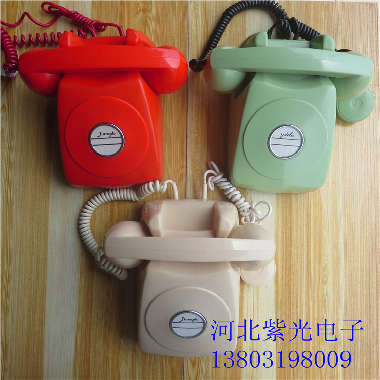 The new Jiangdu Extra old-fashioned co-telephone HG-1 HG881 HG801 answers the telephone railway call