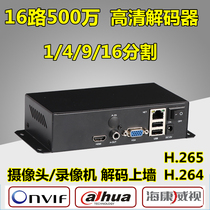 4/9/16 High Definition Video Decoder H 265 Network Decoding Haikang Dahua Monitoring Wall