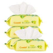 Tmall supermarket Combi hand mouth newborn baby wipes, wet towel for portable equipment 25 pumping *4 package