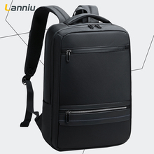 Business shoulder bag male simple business travel bag leisure large capacity schoolbag man 15.6 inch Computer Backpack