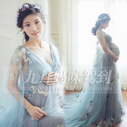 136 pregnant women dress photo studio rental pictures photographed clothing dress beautiful fairy lace dress