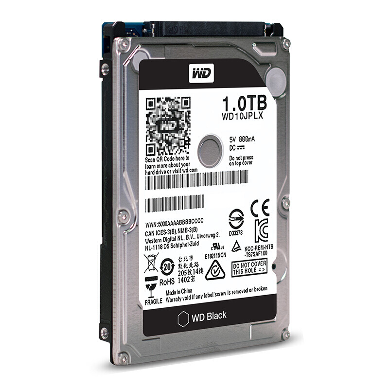 WD/Western Data WD10JPLX 1TB Black Disk 1T 7200 to 32M Notebook Hard Disk