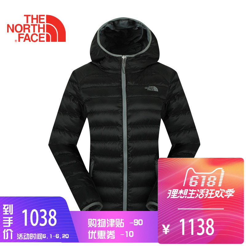 The North Face outdoor 700-feather jacket CTW0 in autumn and winter