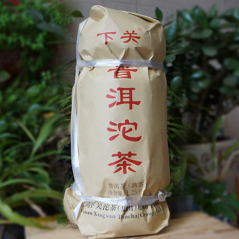 The whole Yunnan Pu'er Tea will be sold in Xiaguan Pu'er Tuo Tea in 2017. Fatuo ripe tea will be 250 grnX5 Tuo