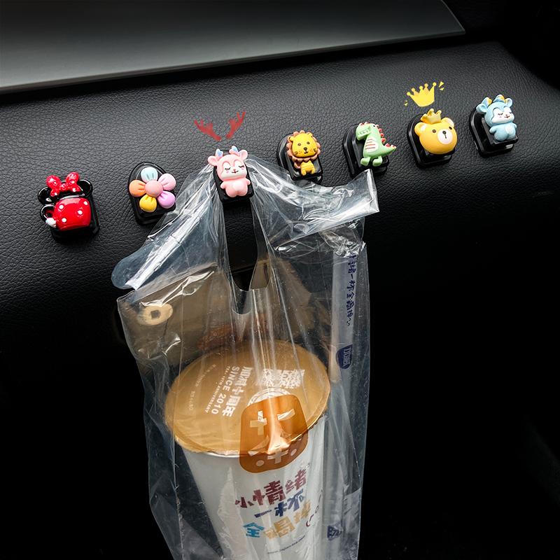 Интерьер автомобиля небольшой крюк автомобиля передние украшения поставки Daquan паста женский мультфильм спинка сиденья автомобиля крюк
