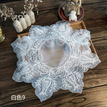 European lace mesh tea tray tea set multi-purpose cover towel telephone microwave oven notebook computer dust cloth napkin
