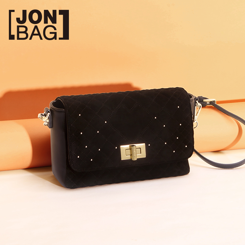 Jane 秋季 秋季 autumn small bag 2018 new wave Korean version of the wild single shoulder slung small fragrance rhombic chain handbags