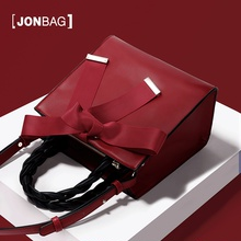 Jane Baige Red Bride Bag 2019 New Fashion Handbag Female One Shoulder Slant Bag Female Bag Little CK Marriage Bag