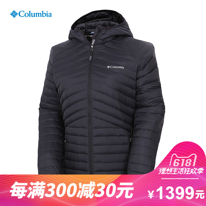 COLUMBIA/Colombian Women's Outdoor Sports Wind-proof, Pollution-resistant and Warm Down Suit WR5494