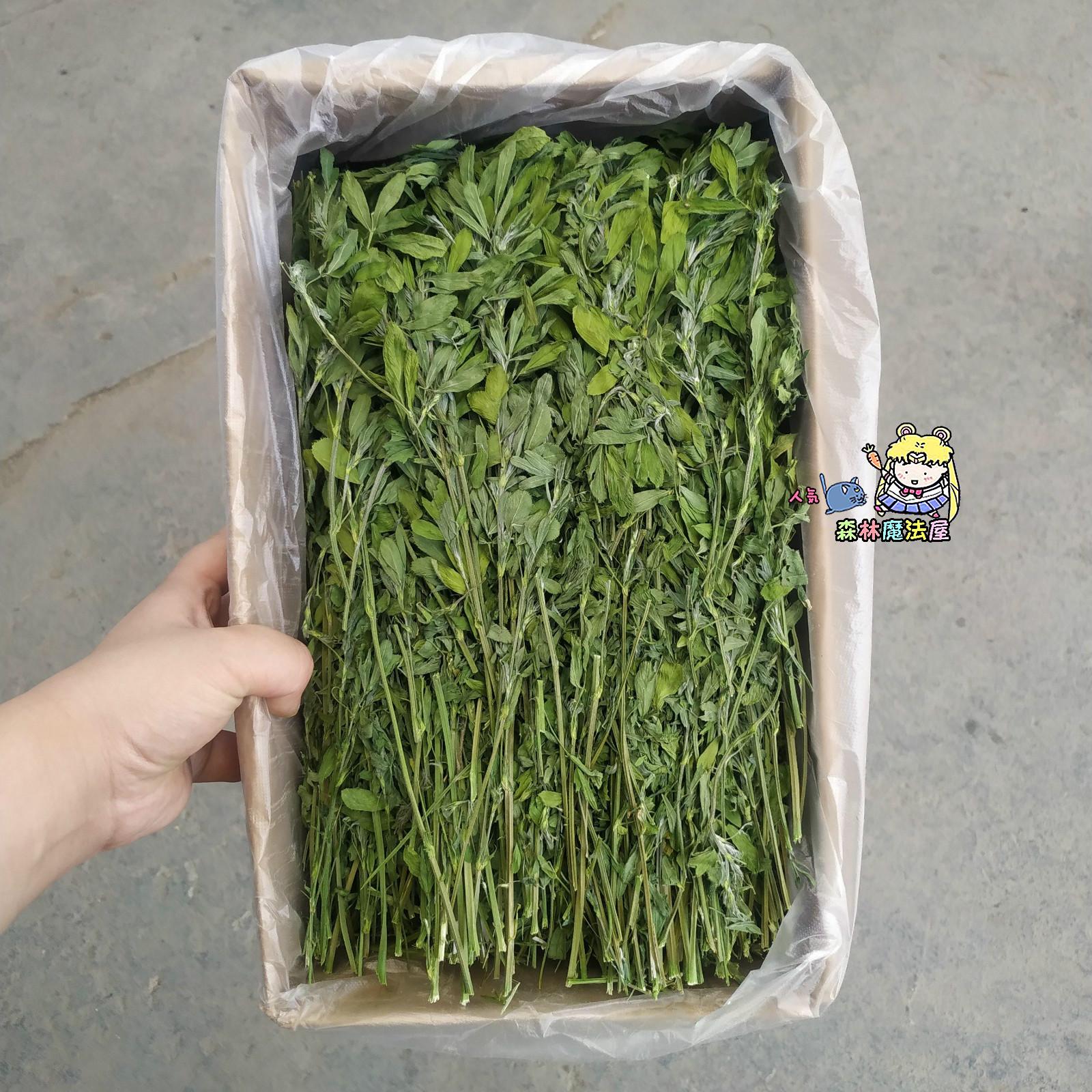20 лет новой травы альфальфы 1KG коробки молодых кроликов постоянное дополнительное питание хорошая трава