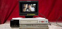 [Secondhand products]Sony SVT-96LP, a professional surveillance video recorder manufactured in Japan, can be used in home VHS video recorder Sony rewind machine