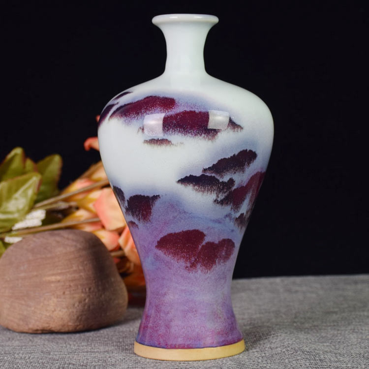 Jun Porcelain Vase in Yuzhou, Henan Province