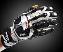 KNOX mechanical exoskeleton Motorcycle motorcycle Four seasons Knight riding equipment Racing carbon fiber mens drop gloves