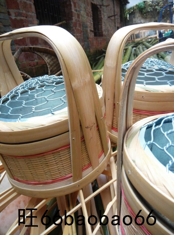 Fire cage oven stove heater roasting pot charcoal barbecue warm hand bamboo cage bamboo basket chicken cage bamboo non-electric stove