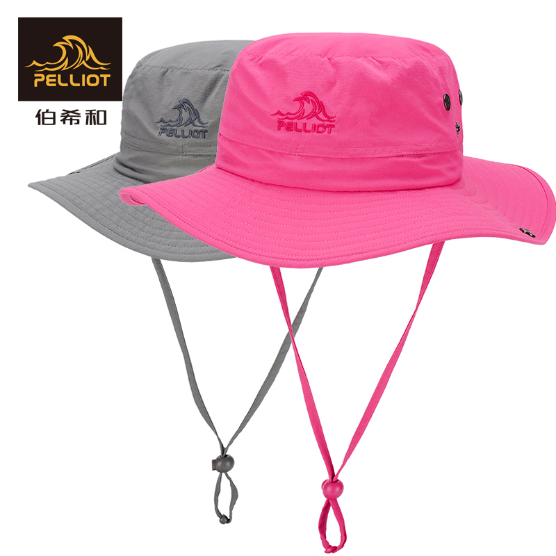 French Pelliot and outdoor sun hat Men and women visor summer fisherman hat folding sun hat travel hat