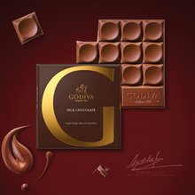 GODIVA Песня императора Брахман молока шоколадная стружка офис Любовь в небе летящий дракон (предзнаменование появления мудрого владыки)