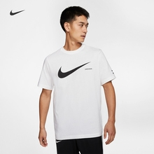 Nike official NSW Swoosh men's T-shirt new double hook summer ck2253 dj2790